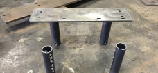 ADJUSTABLE STEEL LEGS